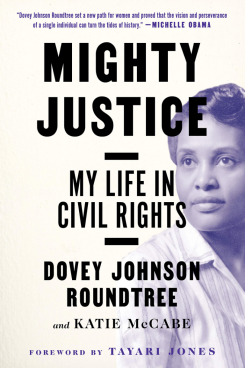 Book cover for mighty justice