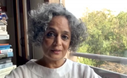 "Arundhati Roy: ""The Pandemic Is a Portal"""