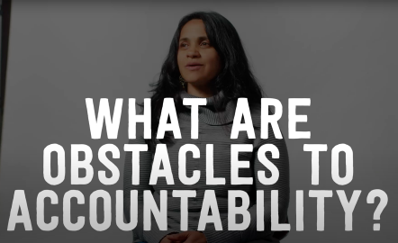 What Are Obstacles to Accountability?
