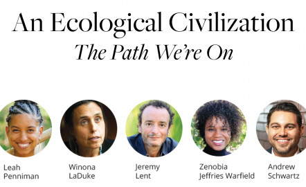 An Ecological Civilization: The Path We're On