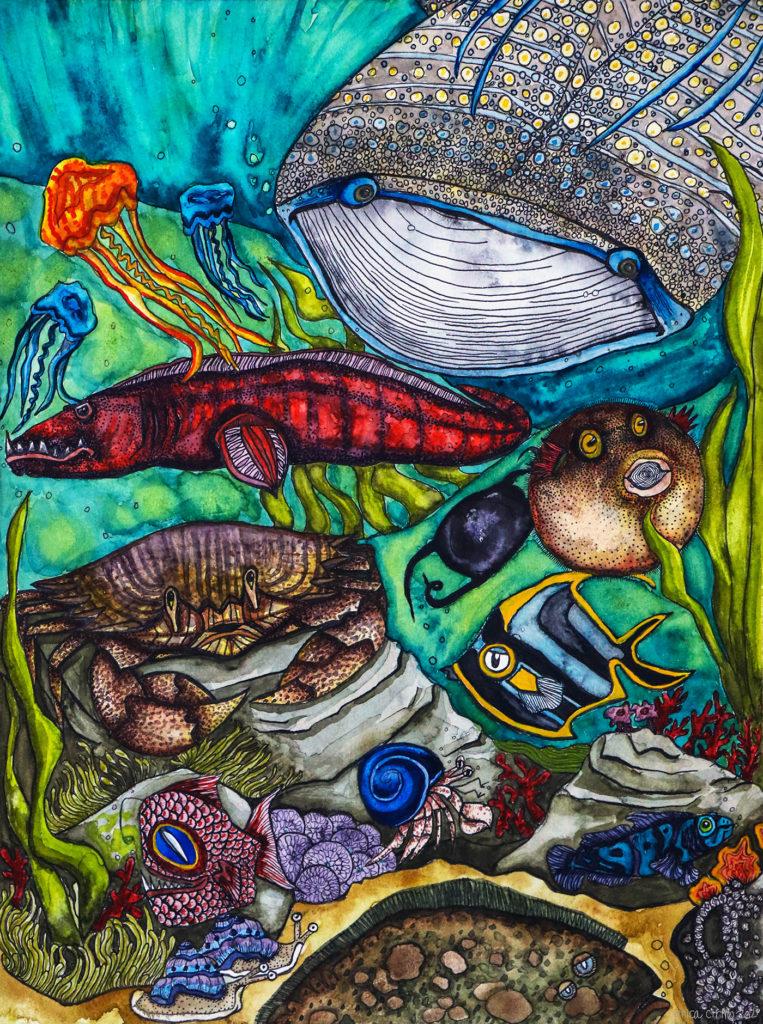 erica cirino nature scene 1 In: Plastic World orPlastic-FreeWorld?   Our Santa Fe River, Inc. (OSFR)   Protecting the Santa Fe River in North Florida