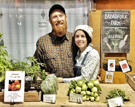 Hippie farmers. Photo by Kris Krug.