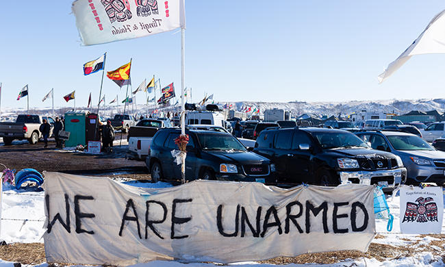 Standing Rock and the Return of the Nonviolent Campaign