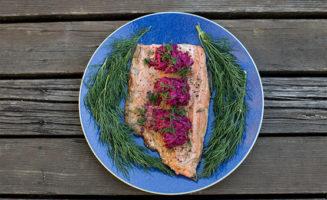Sauteed Salmon photo by Paul Dunn