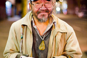 Homeless Man photo by Tomasz Wagner