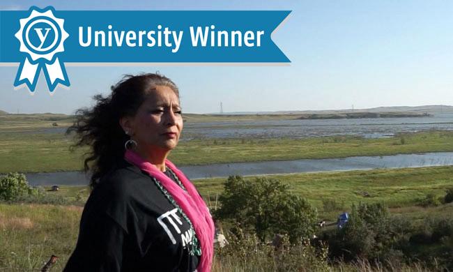 University winner banner