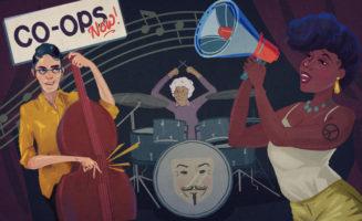 Jazz economy illustration by Jennifer Luxton.