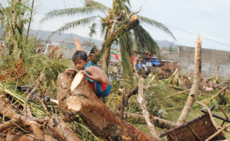 Haiyan Child photo courtesy of EU Humanitarian Aid and Civil Protection
