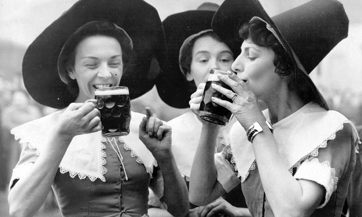 Sorry Bearded Hipsters. The Original Brewers Were Women