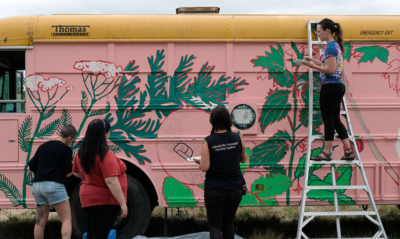 Standing Rock Medic Bus Is Now a Traveling Decolonized Pharmacy