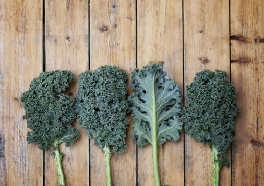 Kale photo from Shutterstock