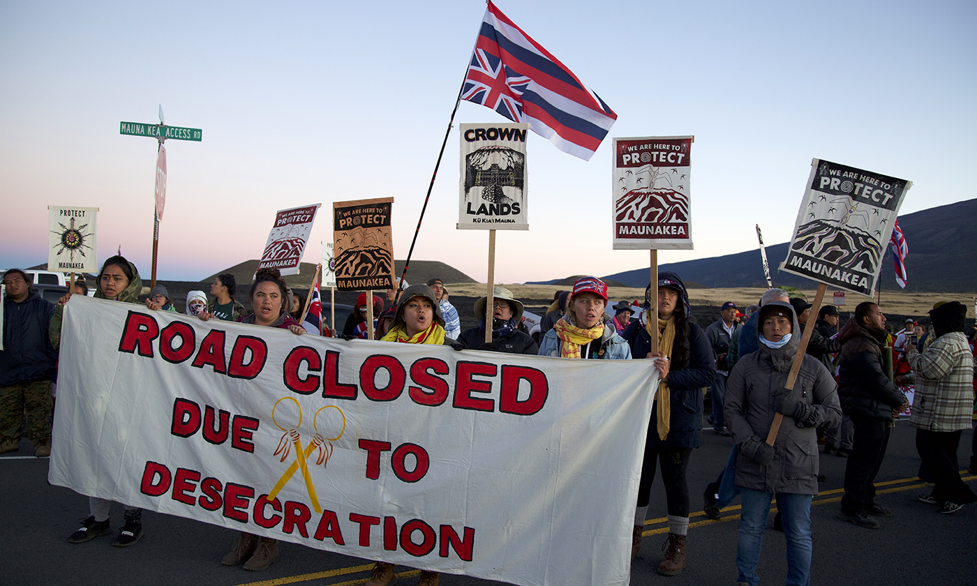 Mauna Kea Protests Reveal Problems in Construction Processes on Native Lands