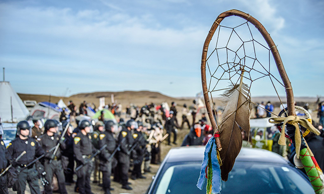 Suddenly Time—And the Oil Market—Are On the Side of the Standing Rock Sioux