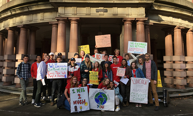Portland Public Schools First to Put Global Climate Justice in Classroom