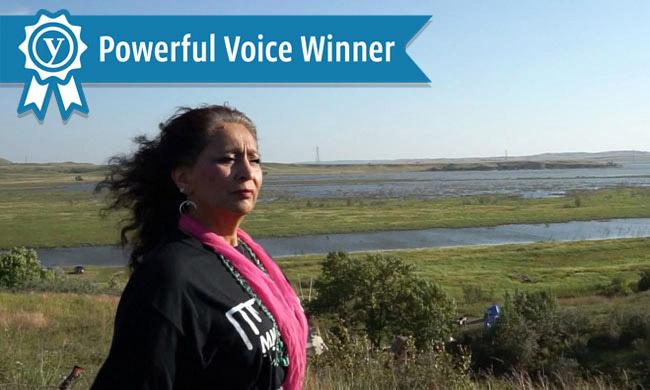 Powerful voice winner banner