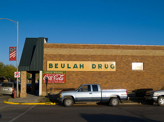 Beulah Pharmacy photo by Andrew Filer