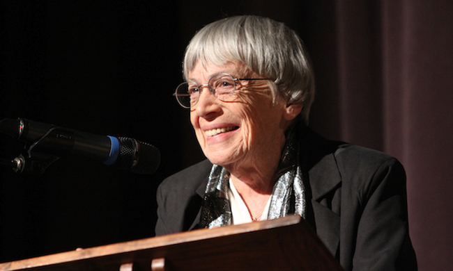 Ursula K. Le Guin Calls on Fantasy and Sci Fi Writers to Envision Alternatives to Capitalism