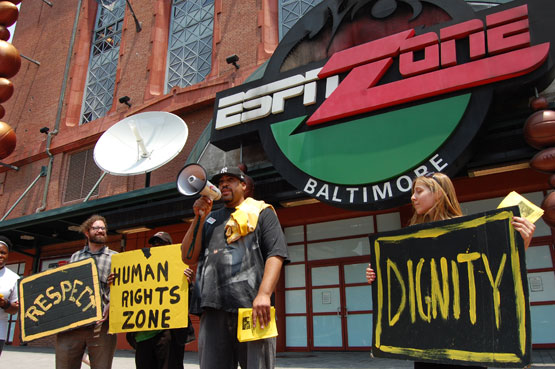 Laid-Off Baltimore Workers Beat Disney in Court—And Ask All the Right Questions About Urban Development