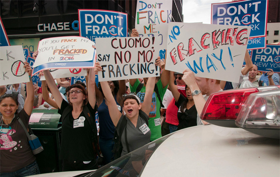 """Gas Industry Report Calls Anti-Fracking Movement a """"Highly Effective Campaign"""""""