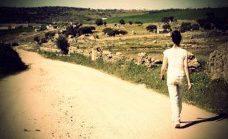 Woman Walking by Bueno