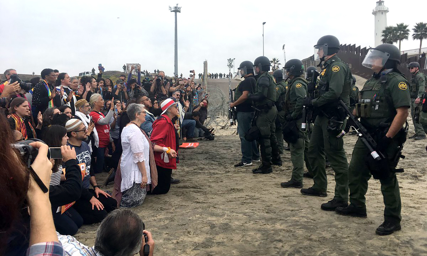 I Walked Right Up to Militarized Police at the Border