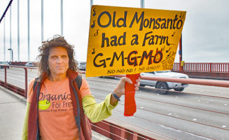 Monsanto sign. Photo by Steve Rhodes.