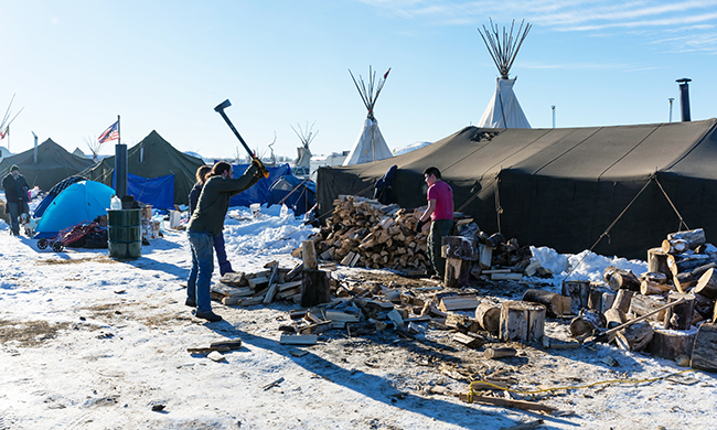 Surviving at Standing Rock After Trump's DAPL Order