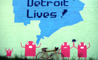 Detroit Lives art by RussTeaches.