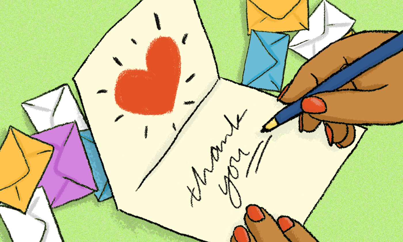 Dear Activist: The Healing of Handwritten Letters of Thanks