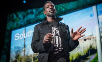 Ron Finley speaks at TED