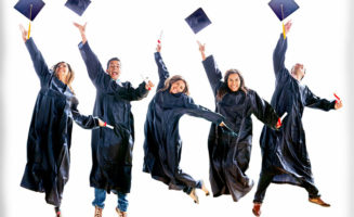 College grads by Shutterstock