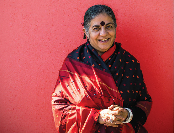 Vandana Shiva photo by Paul Dunn