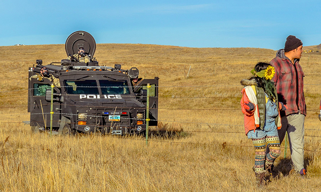 The Never-Ending Indian Wars: Spotlight Returns to Standing Rock
