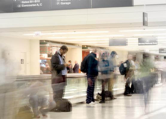 Airport ghosts by Oleg Shpyrko.