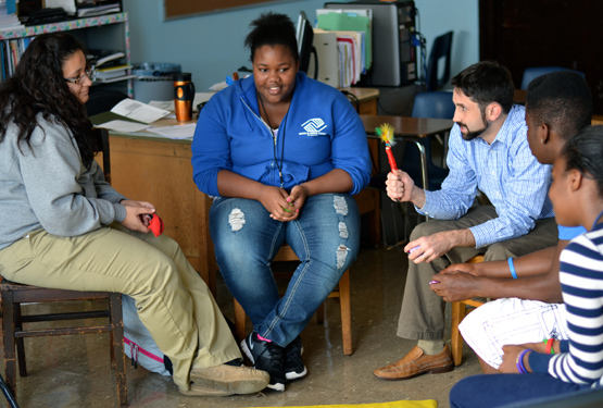 Kids on Chicago's West Side Break the School-to-Prison Pipeline with Restorative Circles