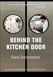 Behind the Kitchen Door Book Covr