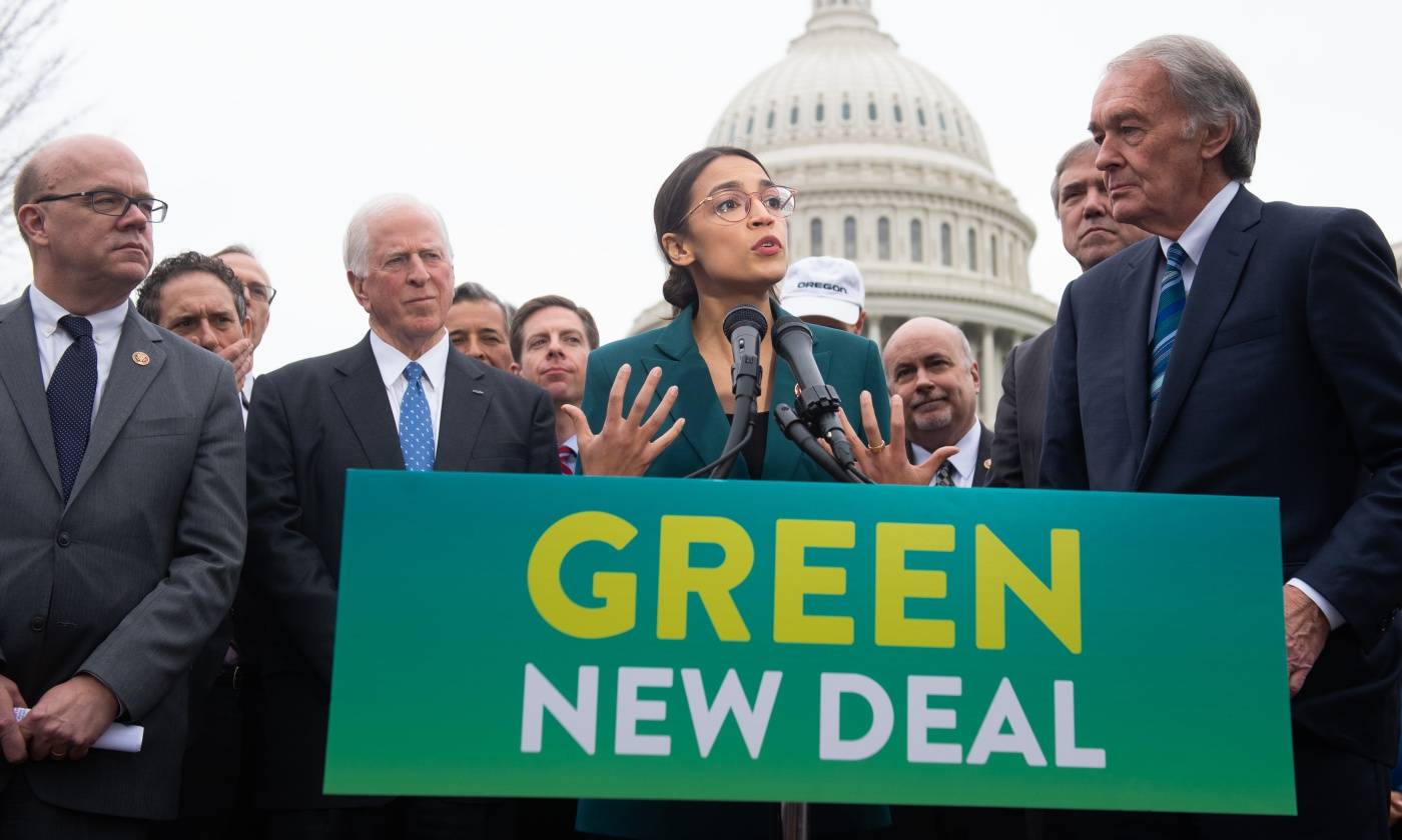 Bill McKibben: Climate Change Is Scary—Not the Green New Deal