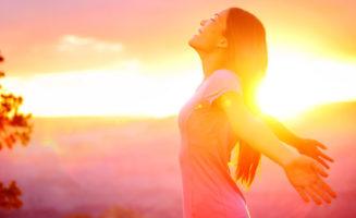Woman in Field photo from Shutterstock