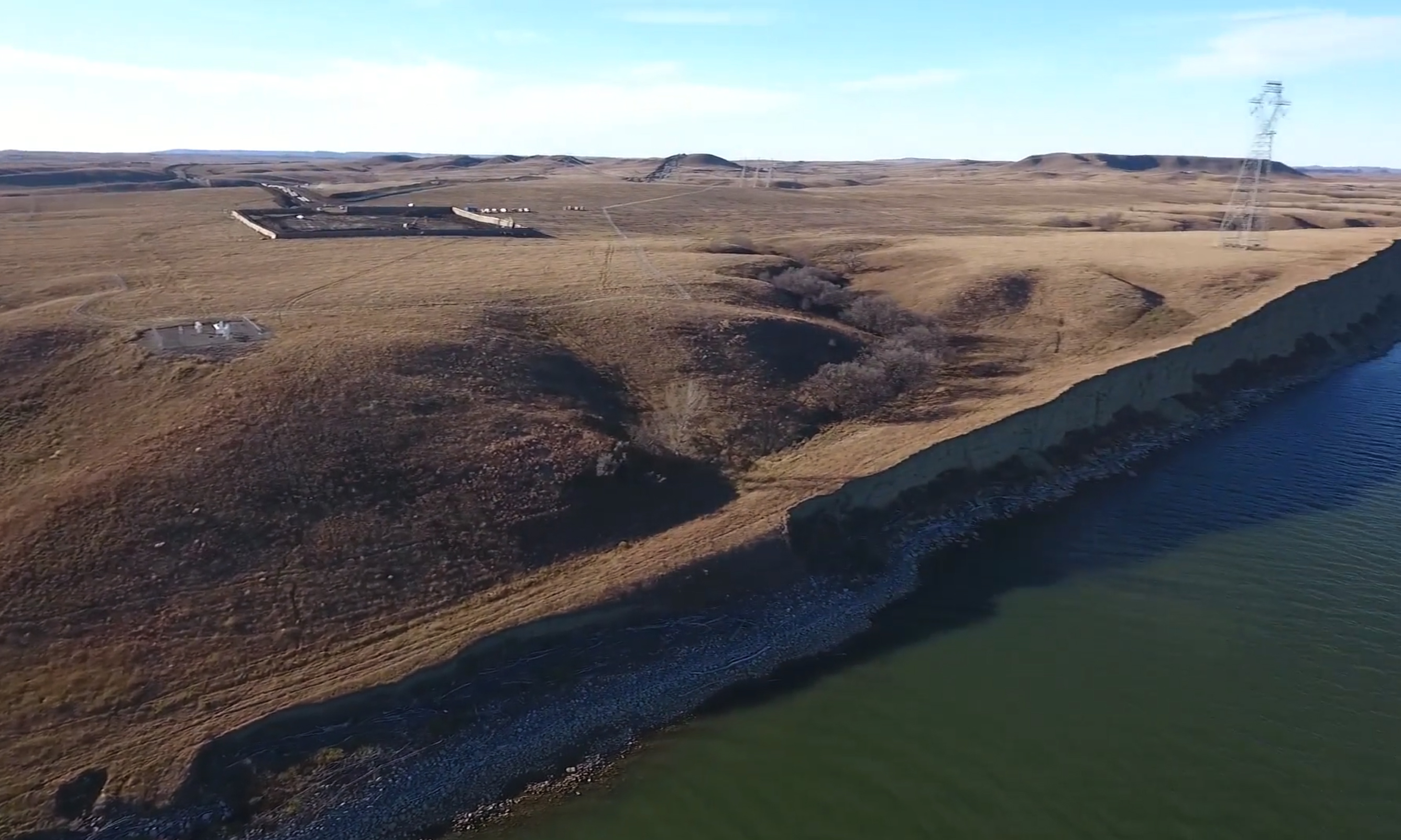 This Land Is Our Land: All Sides Move Quickly as Pipeline Nears the River