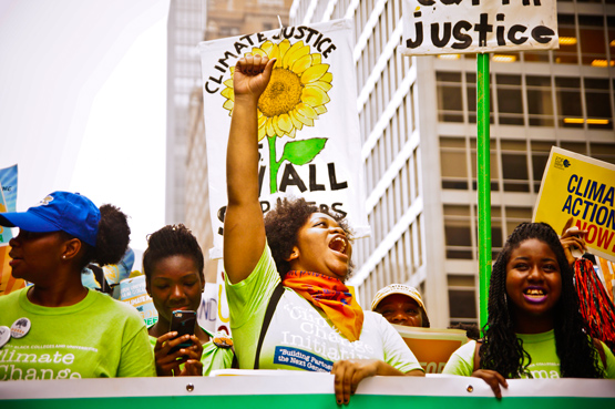 A scene from the People's Climate March. Photo by Light Brigading / Flickr.