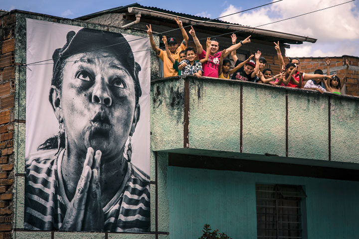 Medellin Posters photo from Pazamanos foundation