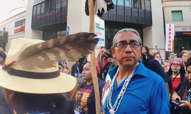 """This Is Our Land"": Indigenous Rights Activists Respond to White Supremacist Rhetoric"