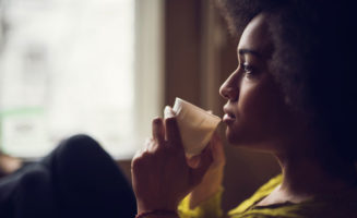 Thoughtful African American Woman photo from iStock