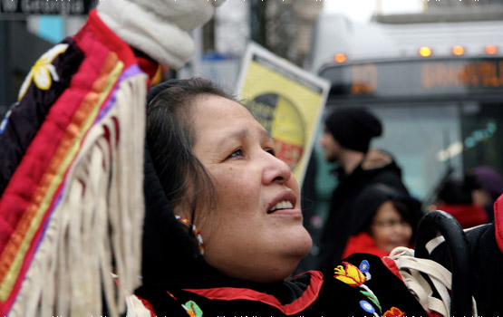 Indigenous Women Take the Lead in Idle No More