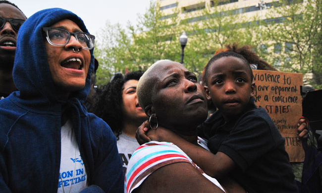 Photos: Baltimore Protests Inspire Renewed Sense of Direction For Community Leaders