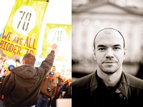 Peaceful Uprising photo by David Newkirk