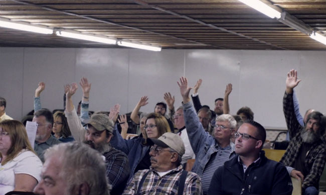 Faced With a Fracking Giant, This Small Town Legalized Civil Disobedience