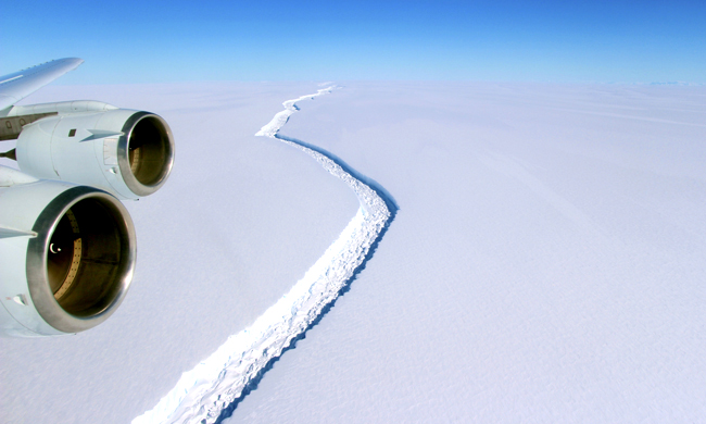 A Trillion-Ton Iceberg Broke Off Antarctica and All I Can Think About Is Food