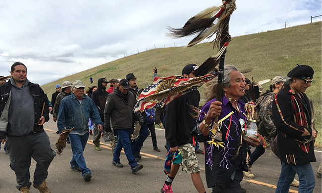 For Thousands at Standing Rock, a Shocking Day After So Much Waiting
