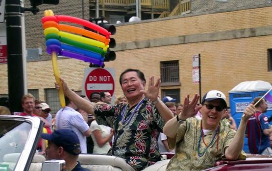 Takei Pride Parade